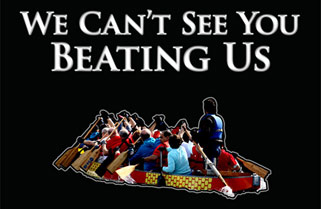 We Can't See You Beating Us – Poster
