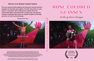 Rose Colored Glasses – DVD Label